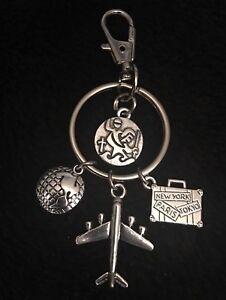 Saint-Christopher-Travel-Charm-Keyring-Gift-Keychain-Protect-Us-Hostess-Be-Safe