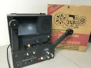 Goko-RM-5000-Super-8-Stereo-Sound-Multi-recording-film-editor-viewer-NF-system