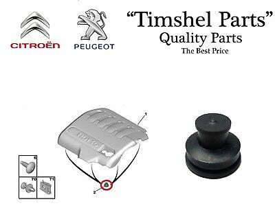 4x d/'origine PSA Peugeot Moteur Couvercle Clips 0137.11 attentat tampon 0137.f6