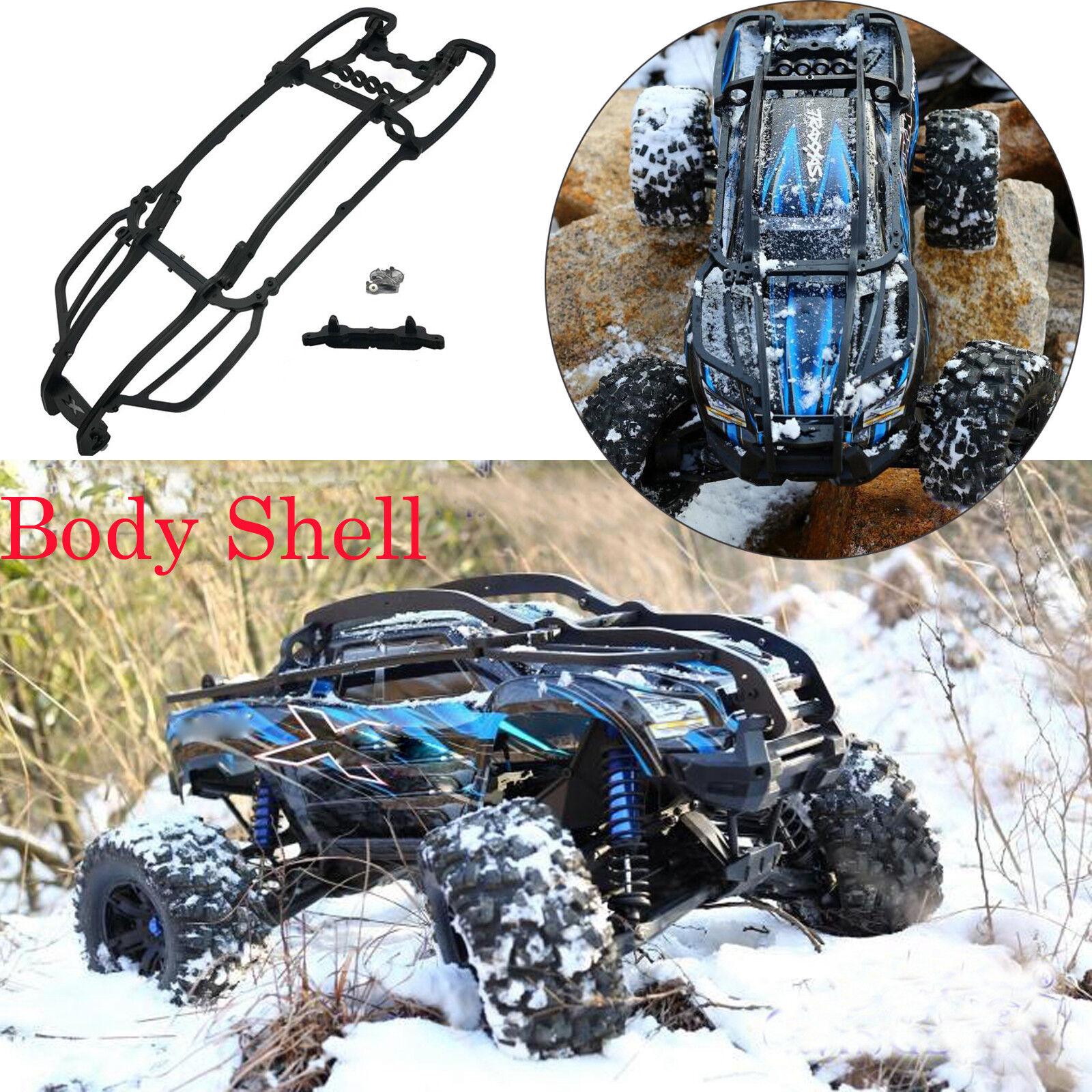 Nylon Roll Cage Body Shell Frame Predective Cover for Traxxas X-Maxx Xmaxx Car