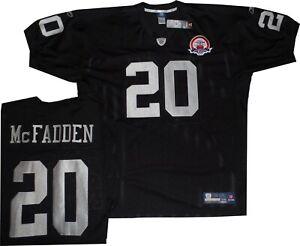 the best attitude dd600 8a80a Details about Oakland Raiders Darren McFadden AFL Authentic Throwback  Reebok Jersey 56 New