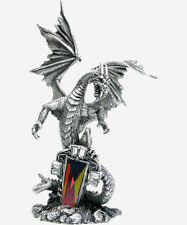The Sentinel Pewter Myth and Magic - Dragon Figurine