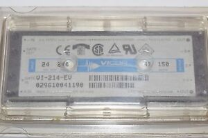 Image Is Loading New Vicor Vi 214 Ev Isolated Module Dc