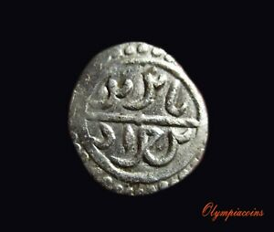 OTTOMAN-EMPIRE-Bayezid-I-AH-791-804-1389-1402-AD-Silver-Akce-EXCELLENT