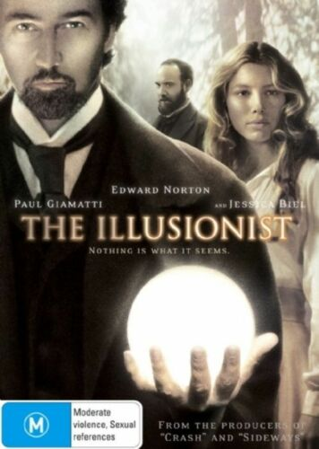 1 of 1 - The Illusionist (DVD, 2007) R4 PAL NEW FREE POST
