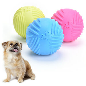 Dog-Pet-Puppy-Fetch-Chew-Toy-Durable-Rubber-Ball-Fit-Launcher-Training-ExerciseS