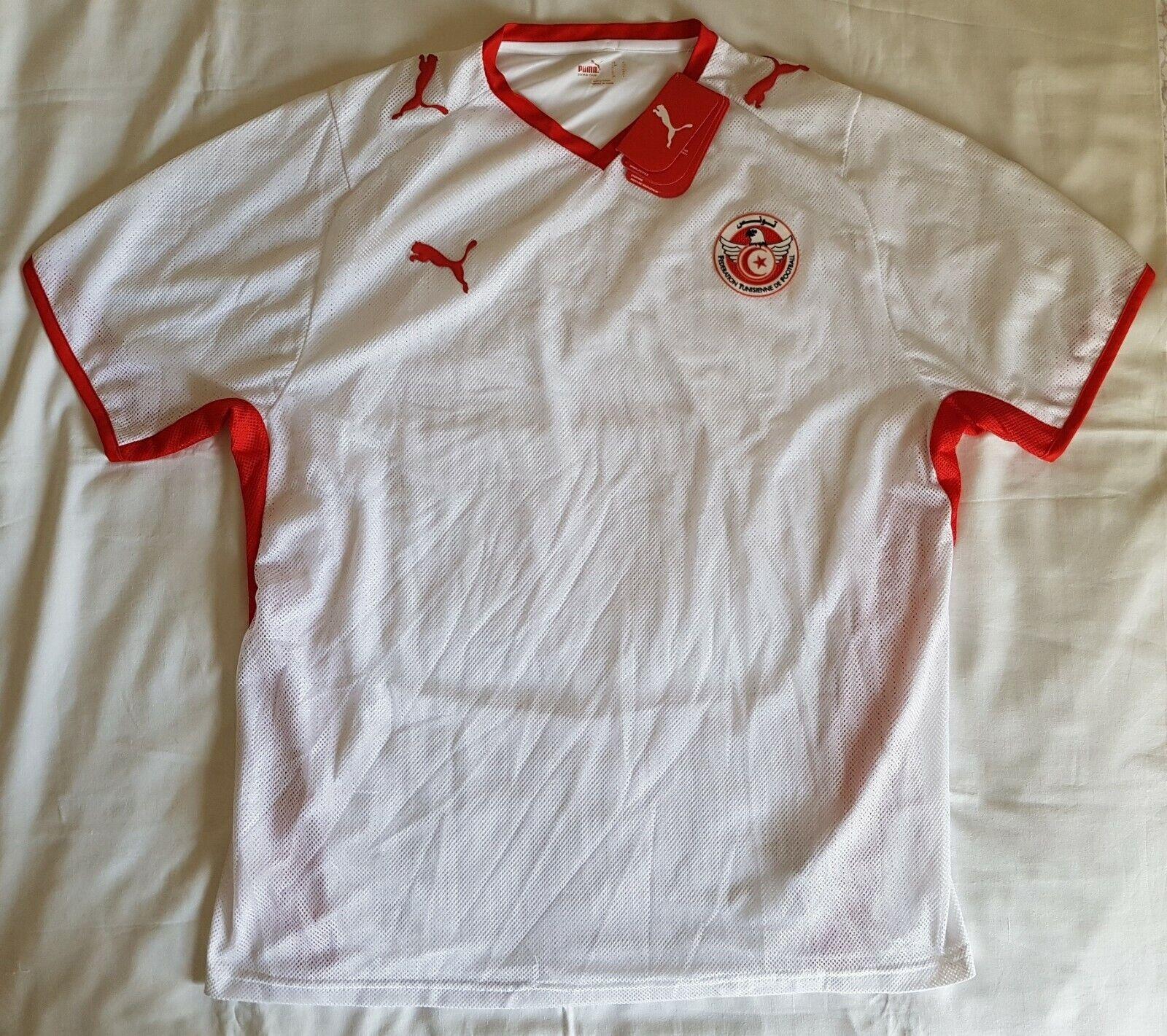 62ea3189c Tunisia 2008 - 2009 home football shirt soccer jersey