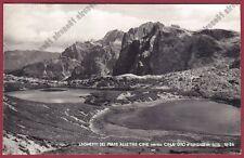 BELLUNO BOLZANO TRE CIME DI LAVAREDO 15 LAGHI DEI PIANI DOLOMITI Cartolina 1952