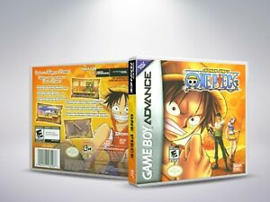 One-Piece-GBA-Replacement-Cover-Case-NO-Game