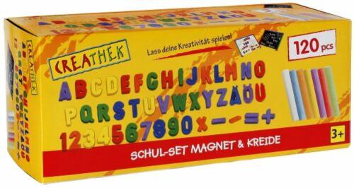 Kreide Malen Tafel Schreiben Schulset mit Magneten