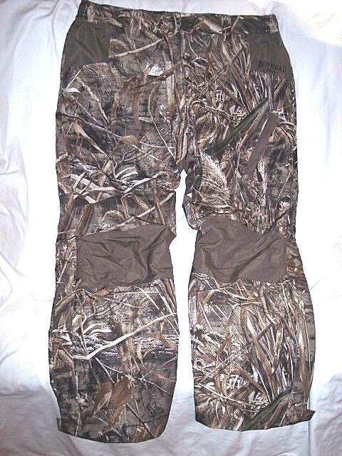 Mens XL Camo Pants Water Proof Realtree Camo Hunting Pants Lined WindProof Pants