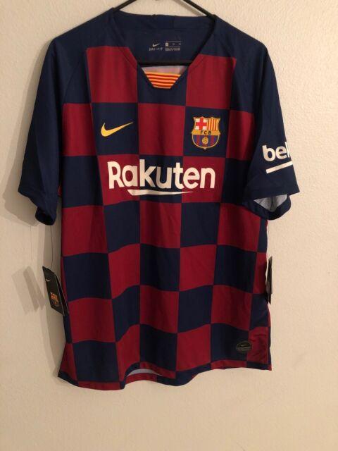 Nike FC Barcelona Home Jersey Aj5532 456 Size XL