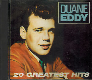 CD-Duane-Eddy-20-Greatest-Hits-Sehr-gut-Prima-Records-PXCD-105-UK-Press