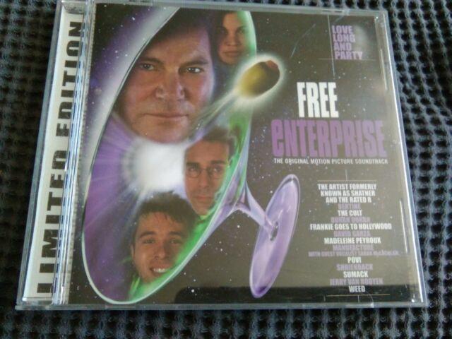 free Enterprize , Soundtrack various artists, 1999 Cd limited edition