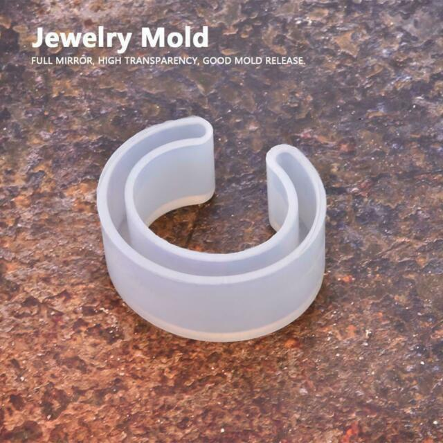 Silicone Mold Casting Mould For Resin Bangle Bracelet Jewelry Making DIY Tools p