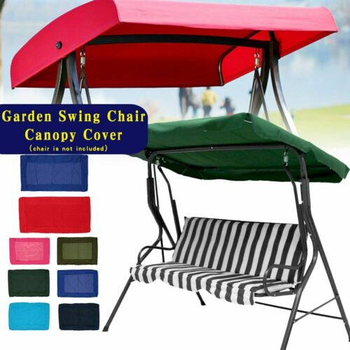 Swing Chair Canopy Cover Shade Sail Waterproof Outdoor Anti-UV Durable Tent Tarp