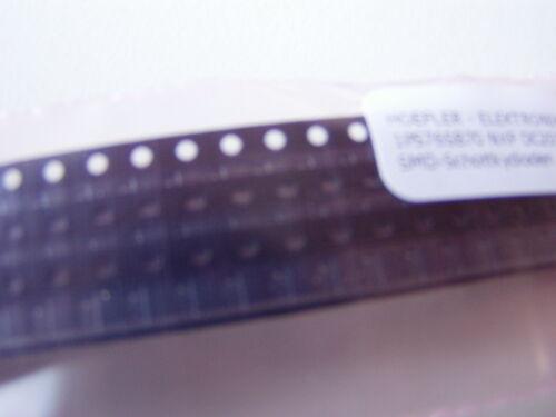 Capa de carbón-resistencia 33 Ohm 5/% 0,25w forma compacta 0207 utilizarse sin cinturón