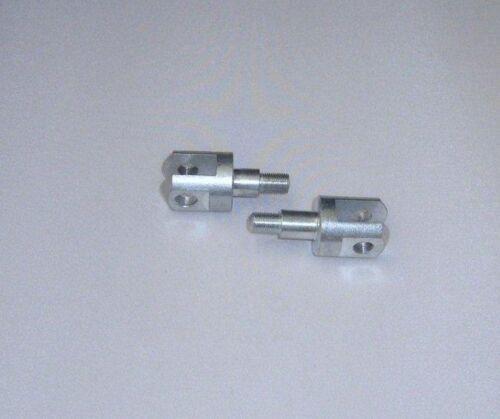 AJS /& MATCHLESS 650 model CSR G12 Passenger Footrests Foot Rest Yokes UK COMPANY