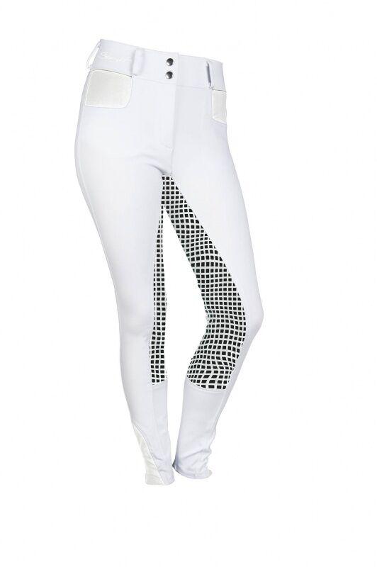 Damen Reitleggings Silikon-Vollbesatz Starlight HKM weiß schwarz schwarz schwarz NEU  | Einfach zu spielen, freies Leben  | Charakteristisch  | Hochwertig  e3c78b