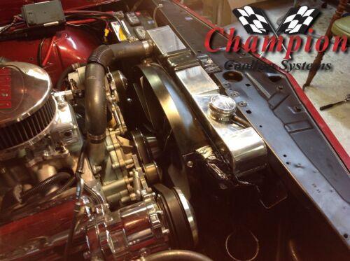 V8 CC284 1964 1965 Oldsmobile f85 3 Row Champion Racing Radiator