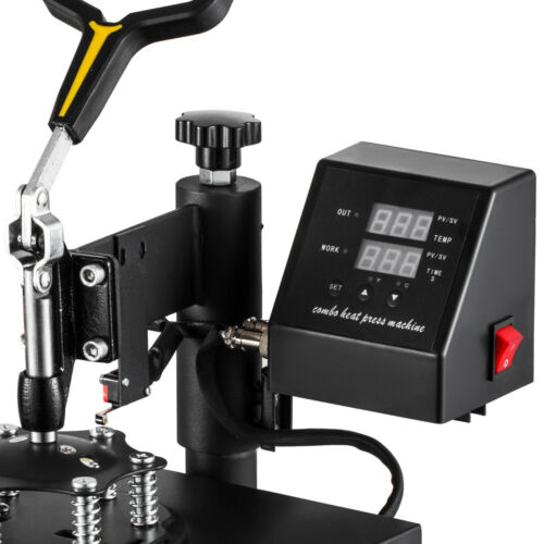 8in1 Hitzepresse Heat Press 30x23cm HeißPresse Transferpresse T-Shirtpresse