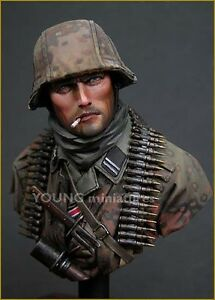 Young Miniatures Waffen SS WW2...