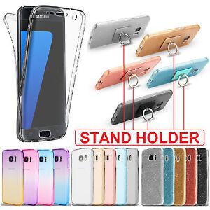A-Prueba-De-Choques-360-Soporte-Protector-Claro-Funda-Gel-para-Samsung-Galaxy