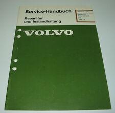 Werkstatthandbuch Volvo 340 Motor Überholung D 16 / D16 / B172 / B 172 ab 1984!