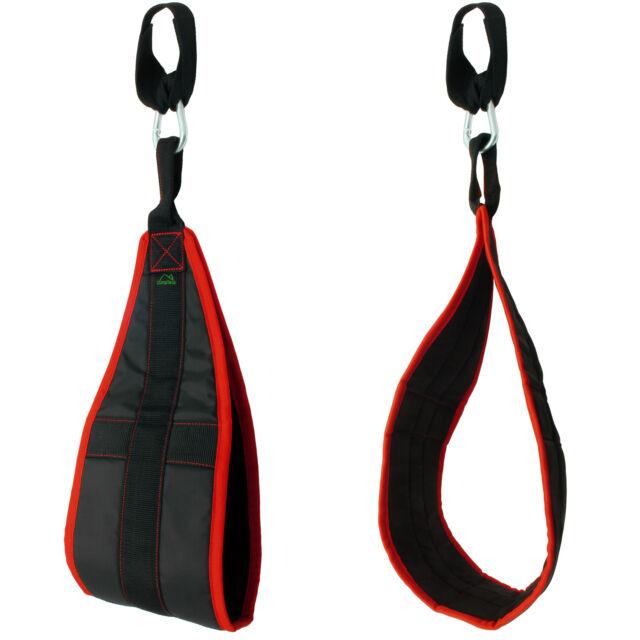 Hanging Ab Straps Padded Ab Sling Abdominal Crunch Gym Leg Raise Pull Up Chin Up