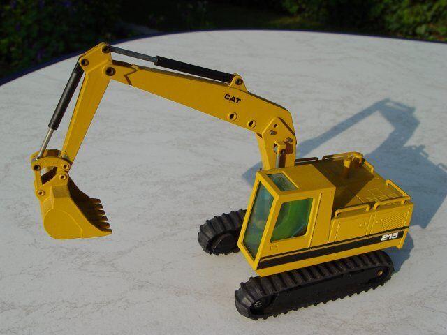 NZG 190 caterpillar kettenbagger excavadoras trituradora 215 1 50