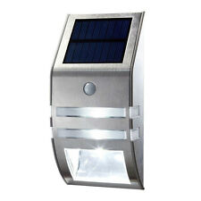 Stainless Steel Solar Wall Light With PIR Sensor