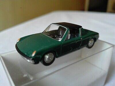 0792 02 Wiking Porsche 914 Argento