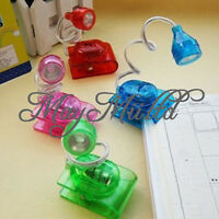 Adjustable Mini Bright LED Clip on Book Reading Light Practical Hot Sales O