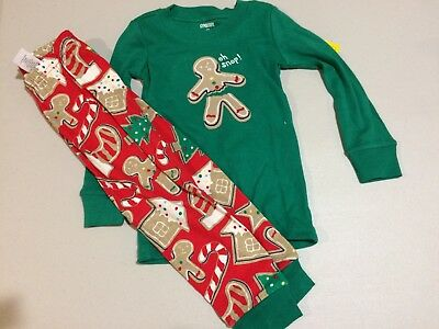 NWT Gymboree Christmas Boys Gymmies Reindeer Deer Pajama Set Holiday Fair Isle