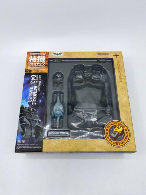 The Dark Knight Batman Batmobile Tumbler Figure Toy Kaiyodo Revoltech No.043