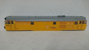 Hornby-OO-Spares-X10809-Class-31-Body-034-31233-034-Network-Rail-Yellow-NEW