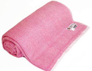 "Himalayan Pashmina Throw,Natural Cashmere Blanket 54/"" x 108/"",Hand Made in Nepal"