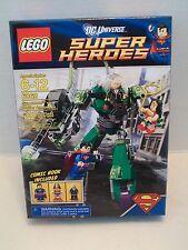 Lego #6862 Superman vs. Power Armor Lex DC Universe Super Heroes RHTF NIB 2012!