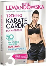 ANNA LEWANDOWSKA  Trening Karate Cardio DVD POLISH POLSKI