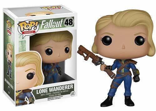 Jeux Funko POP Fallout-Lone Wanderer Female Vinyl Figure