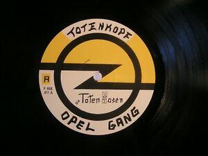 DIE TOTEN HOSEN  -  OPEL GANG !! ( LP ) 1. D-Pressung !! ULTRA-selten !!