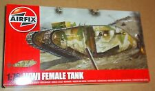 AIRFIX WWI FEMALE TANK 1:76 SCALE BRITISH WESTERN FRONT ARMOUR MODEL KIT TRENCH