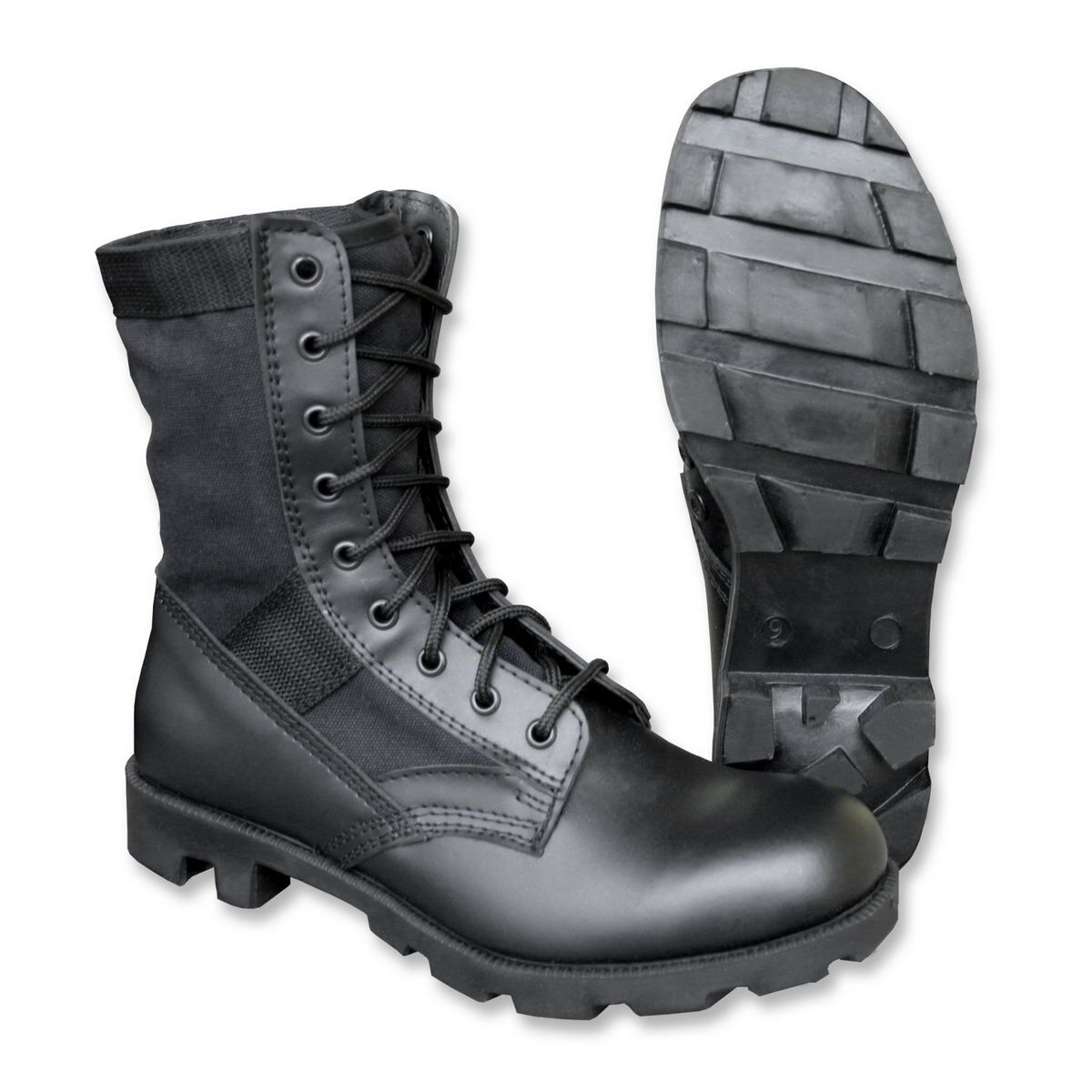 Mil-Tec - U.S. Jungle Boots Panama Combat Boots Jungle Boots Black