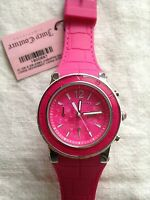 Juiicy Couture Pink Dragonfruit Chronograph Ladies Watch 1900897 +