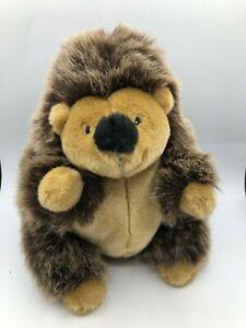 Original-Toys-R-Us-Animal-Alley-Brown-Hedgehog-Plush-Kids-Soft-Stuffed-Toy-Doll