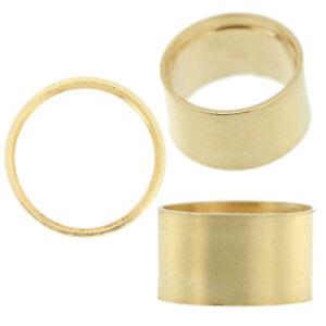 14K-Yellow-Gold-Round-Tall-Tube-Bezel-Head-Setting-Mounting-0-03ct-3-50ct-USA