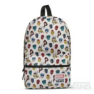 Details about VANS x MARVEL HEADS Calico Small Backpack (NEW) Avengers - SCHOOL BAG Free Ship!