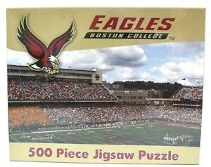 Boston-College-Eagles-Football-Stadium-500-Piece-Jigsaw-Puzzle-NCAA-New-Sealed