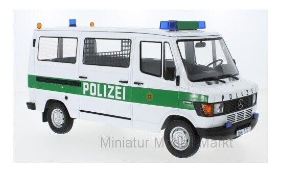 KK -skala Mercedes 208D buss - Polizi - 1988 - 1 18