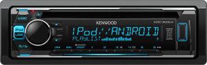 Autoradio-USB-Kenwood-Stereo-Auto-CD-MP3-Radio-FM-50Wx4-AUX-KDC-300UV